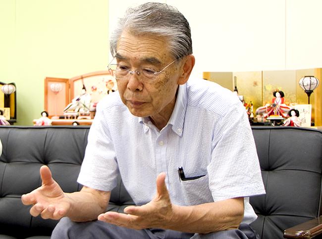 賢一について語る 東玉会長:戸塚 隆