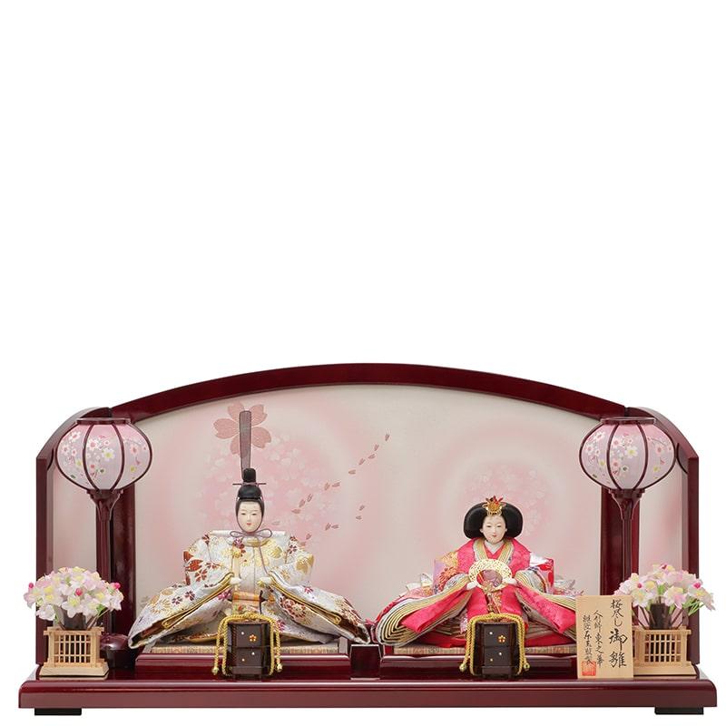 東之華 親王飾り「桜尽くし」