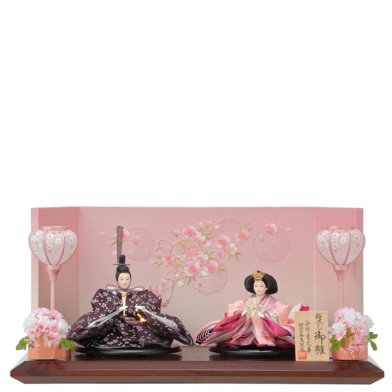 東之華 親王飾り「桜の舞」