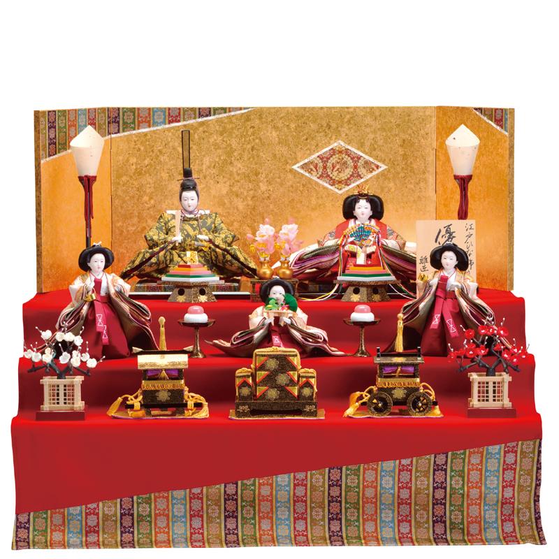 龍村裂 三段飾り「京龍村」