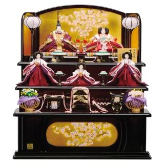 三段飾り「紫香」