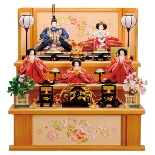 三段飾り「春雛」
