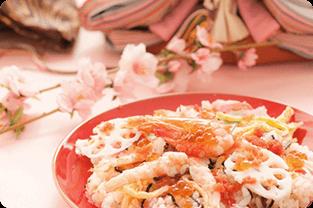ひな祭りのお料理レシピ
