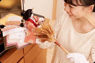 雛人形の片付け方