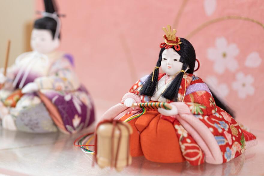 かわいい木目込人形