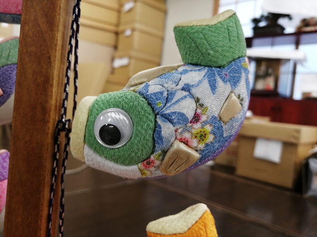 木目込で鯉のぼり!