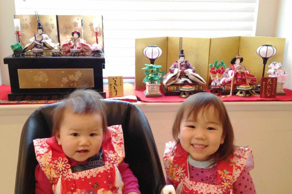ひな祭りの雛人形は何歳からお祝いしいつ頃から飾るのでしょうか?