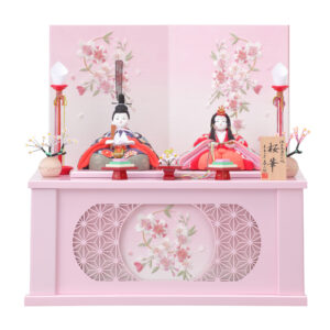 木目込人形 喜久絵 収納飾り「紗愛NOR」