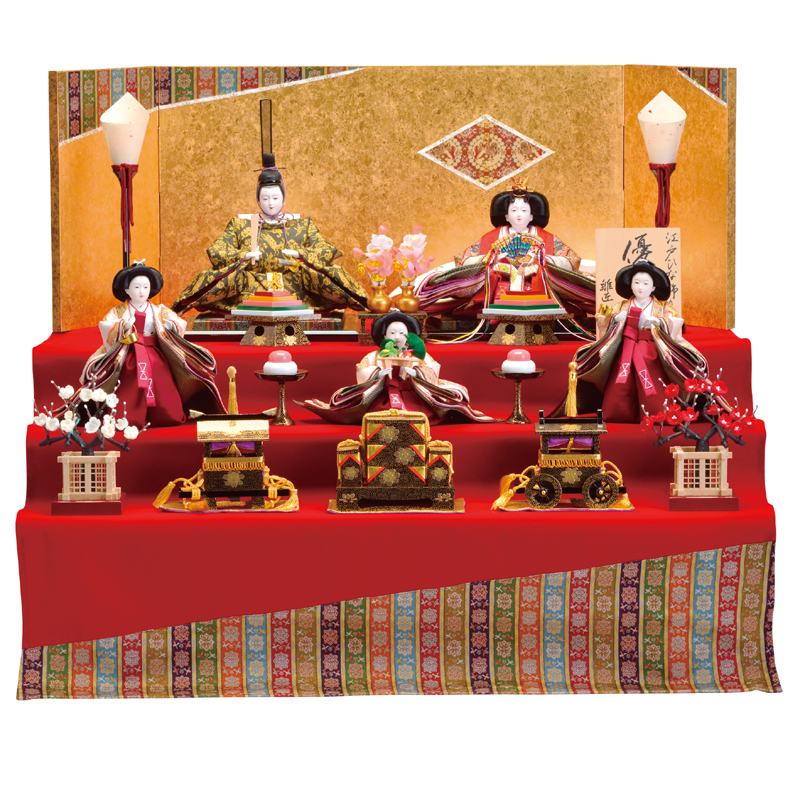 三段飾り 京龍村