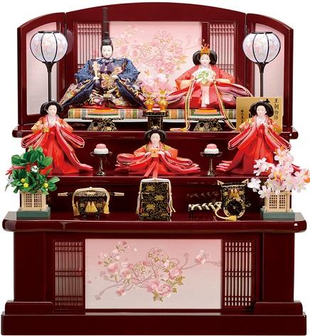 雛人形 三段飾り 東玉