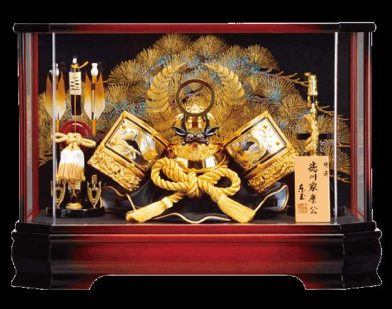 彫金徳川ケース飾り