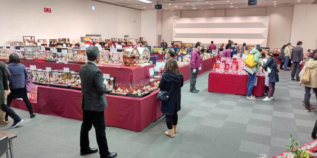 【人形催事2021】 ひな人形in宇都宮マロニエプラザ開催中