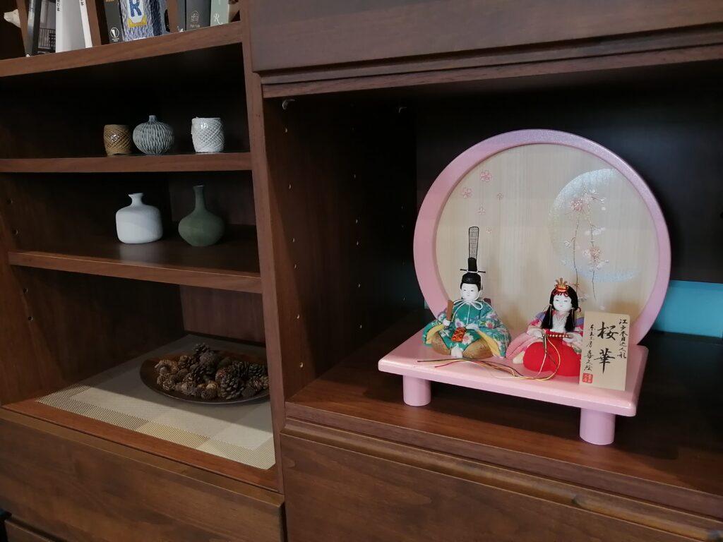 雛人形をどこに飾ろう!?