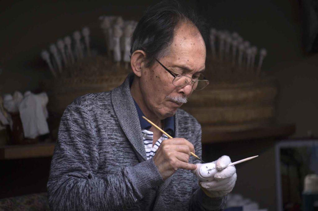 ひな祭りに欠かせない雛人形は伝統の匠の技の結晶です