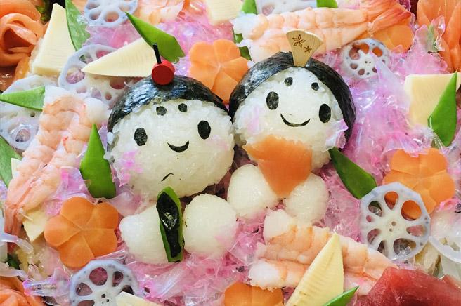 簡単おいしいひな祭りのちらし寿司レシピをご紹介!