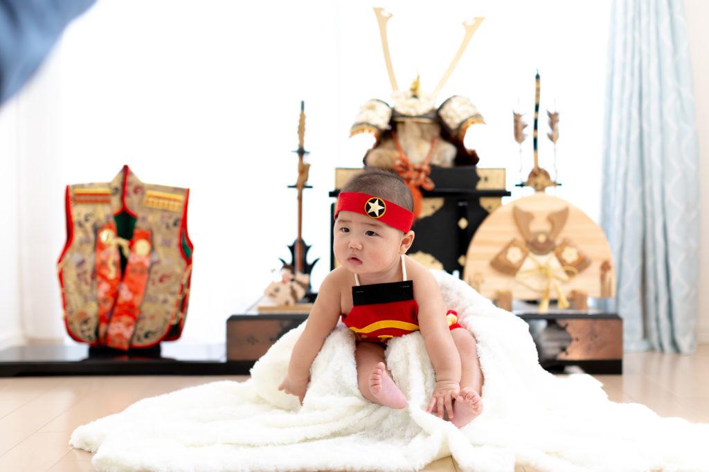 破魔弓はいつまで飾る?年中飾りは五月人形とも一緒に飾れます!