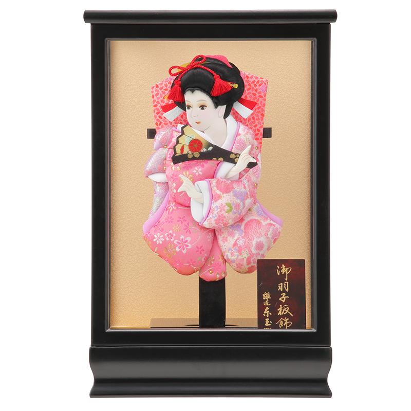 女の子の初正月の「羽子板飾り」は魔除けから始まり正月飾り