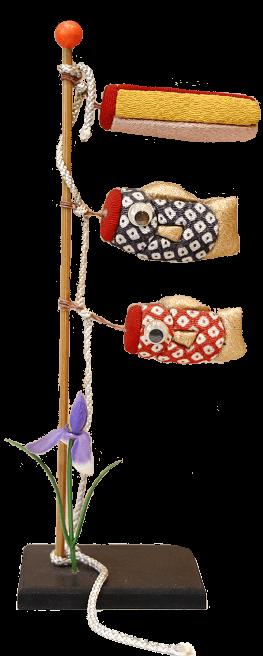 木目込み鯉のぼり
