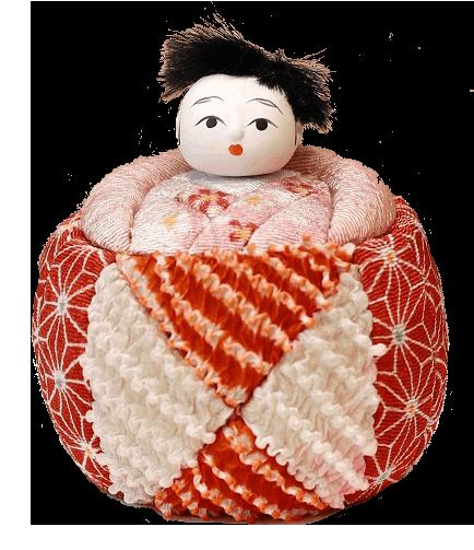 木目込み人形キット(いづめこ)