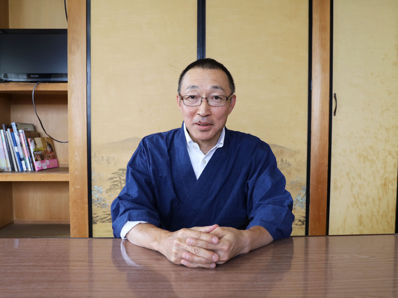 頭師・大豆生田 博(おおまみうだ ひろし)さん