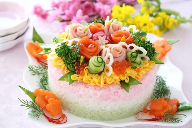ひな祭り洋風料理