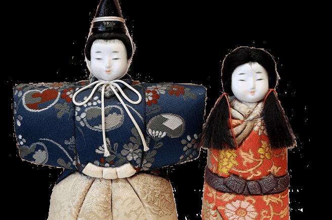 木目込み人形材料キット(立雛)
